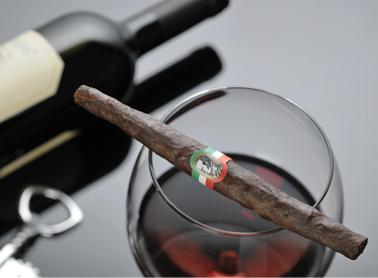 Il sigaro toscano sposa i vini della tenuta
