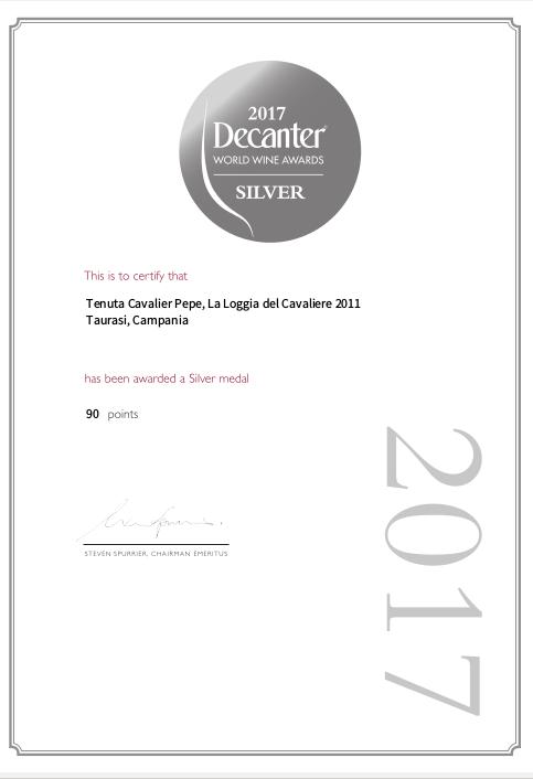 La Loggia del Cavaliere 2011 è tra i nostri vini più apprezzati