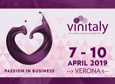 Tenuta Cavalier Pepe <br>partecipa al Vinitaly 2019 <br>con tante novità!