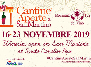 Wineries open in San Martino<br>at Tenuta Cavalier Pepe