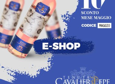 THE SHOP IS ONLINE CAVALIER PEPE TENUTA SIGNED
