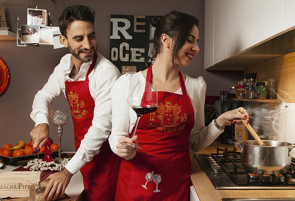 Cucina e Abbina <br>l'idea regalo di<br> Tenuta Cavalier Pepe