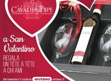 Come festeggiare <br>il tuo San Valentino?<br> Regala un Tête à tête <br>alla persona che ami…